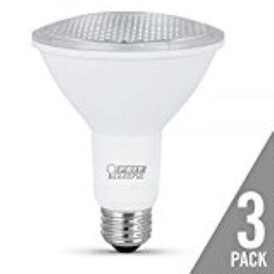 Feit Electric PAR30L75/10KLED/3 Non-Dimmable LED Bulb,75W,12