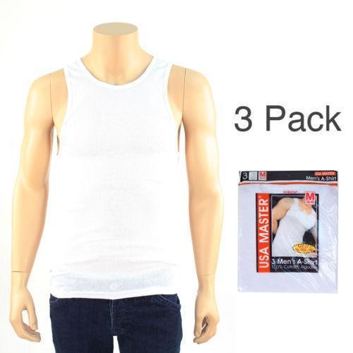 Mens Sleeveless Undershirts Ebay