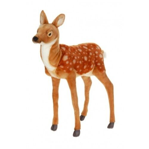 Hansa Bambi Deer Standing Stuffed Animal Plush Toy #3433
