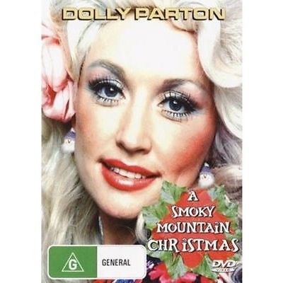 A SMOKY MOUNTAIN CHRISTMAS DVD Dolly Parton Free USA Shipping