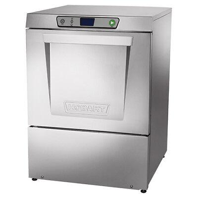 Hobart Lxeh-2 Undercounter Dishwasher - High Temp Sanitizing Unit