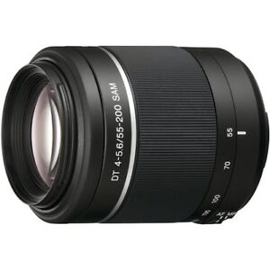 *TWO Lenses Sony A-Mount +UV filters Sony DT18-55mm & DT55-200mm