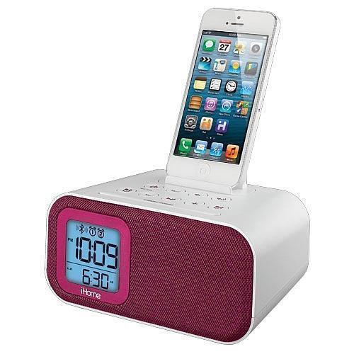 ihome alarm clock pink ebay. Black Bedroom Furniture Sets. Home Design Ideas