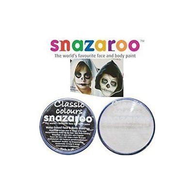 18ml SNAZAROO FACE & BODY PAINT SET (BLACK & WHITE) DEAD ZOMBIE HALLOWEEN ](Halloween Dead Face Paint)