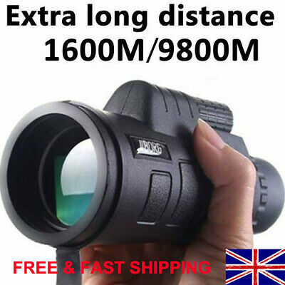 Super High Power 40X60 Portable Night Vision Monocular Telescope Binoculars HD