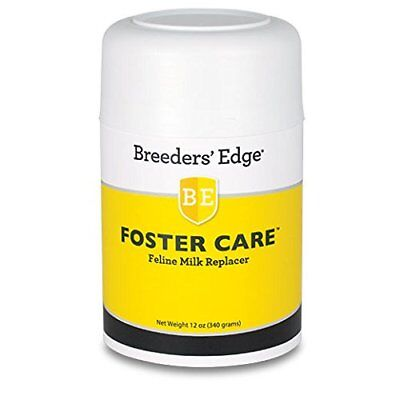 Breeders Edge Foster Care Feline Powdered Milk Replacer 12 oz for kittens  cats