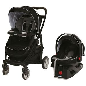Graco Snugride 35 Click Connect Travel System - Onyx