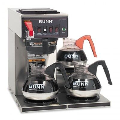 Bunn Commercially Rated Automatic Brewer - Cwtf153lp