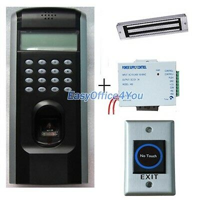 Fingerprint Access Control System With Power Supply Door Lock Infrared Button