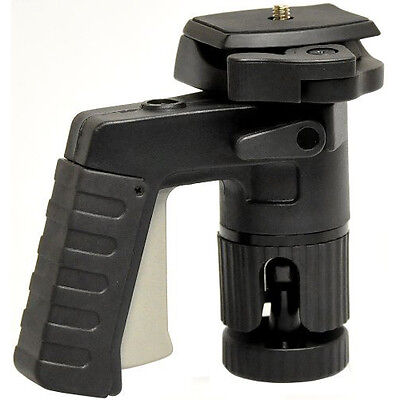 Opteka TS-1 TacShot Pistol Grip Ball Head with Quick Release for Tripod Monopod