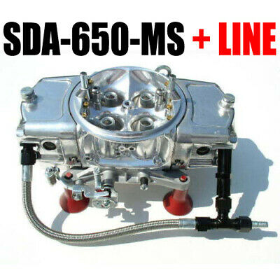 SCREAMIN DEMON SDA-650-MS 650 CARBURETOR Mech Secondaries with line kit in stock