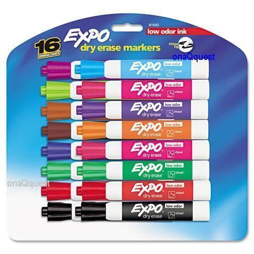 Expo Markers Color Ebay