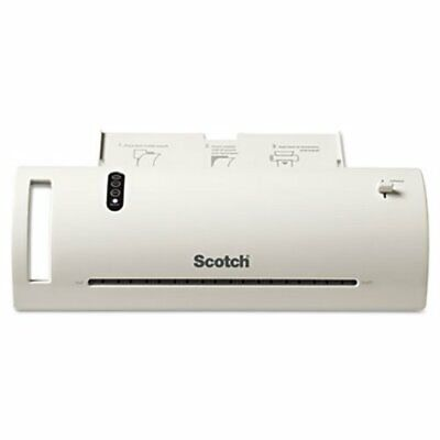 Scotch 9 Thermal Laminator Value Pack With 20 Letter Size Pouches Mmmtl902vp