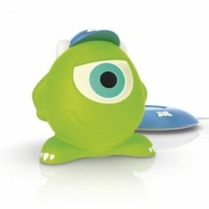 BNIB Disney SoftPals Mike Monster Inc LED Portable Night Light