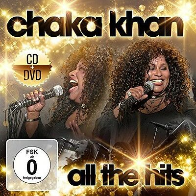 Chaka Khan   All The Hits  New Cd  With Dvd