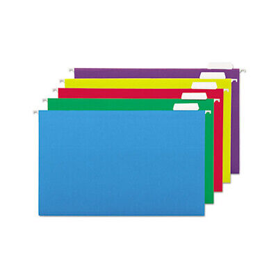 Universal Deluxe Bright Color Hanging File Folders - Unv14221