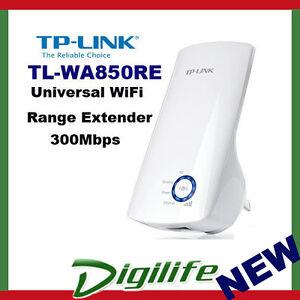 tp link tl wa850re 300mbps universal wifi range extender ethernet bridge ebay