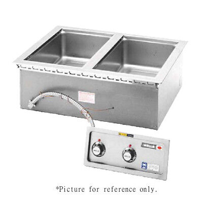 Wells MOD-127TD/AF Built-In Electric Food Warmer with Aluminized Steel Housing