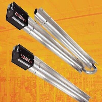Radiant Tube Heater 40 FT 125,000 BTU Propane