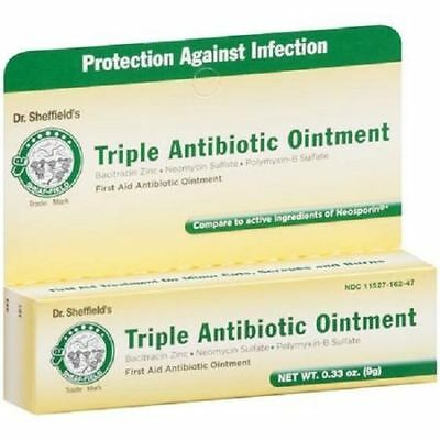 1 - Dr. Sheffield's Triple Antibiotic Ointment First Aid .33 oz Tube Neosporin