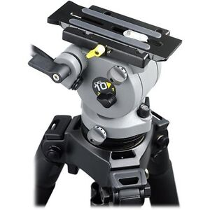 Miller DS10 fluid head professional tripod with pan handle Birkdale Redland Area Preview