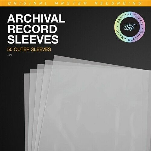 Mobile Fidelity Archival Clear Outer Sleeves (50 Pack)