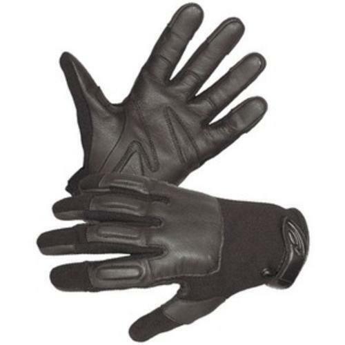 Hatch HGSP100-L Defender II Gloves Steel Shot Black Leather Large