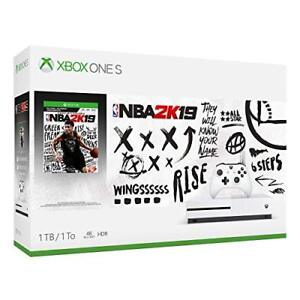 Sealed New Xbox One S 1TB NBA 2019 $300 FIRM