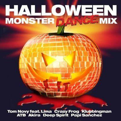 Monster's Halloween Dance Music (Halloween Monster Dance Mix (2005) | 2 CD | Resource feat. Reflex, Karma, DJ)