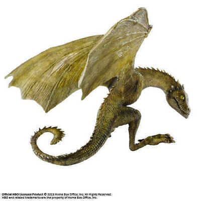 Game Of Thrones Sculpture Rhaegal Baby Dragon 4 11/16in Noble Collection Statue