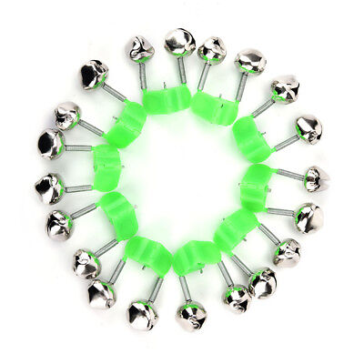 10x fishing rod bite alarm bells twin bells clip alerter fishing tackle tool VH