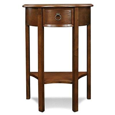 Leick Furniture Demilune Hall Stand - Pecan