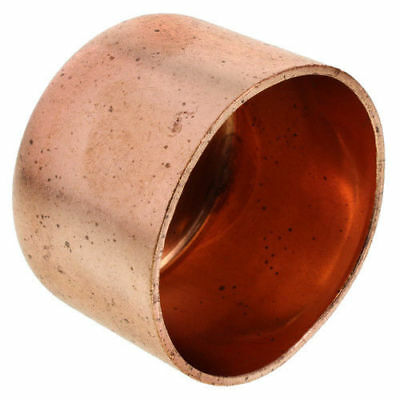 2 Inch Copper Cap Pipe Fitting Plumbing 2-18od