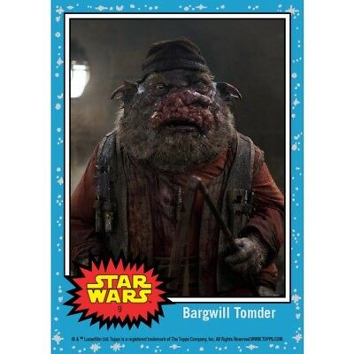 Countdown To Star Wars  The Last Jedi   Fathier Stable Keeper  Card 9