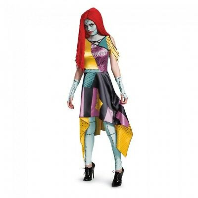 Nightmare Before Xmas Costumes (Nightmare Before Christmas - Sally Prestige Adult)