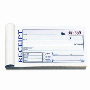 Receipt Book: Forms & Record Keeping | eBay