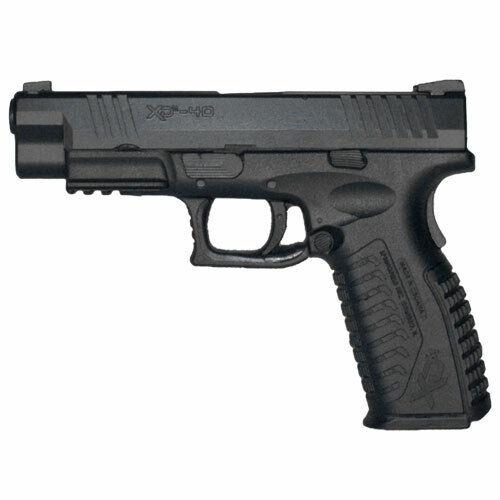 Rings Blue Gun SPRINGFIELD XDM40 Firearm Simulator FSXDM40WB BLACK WEIGHTED