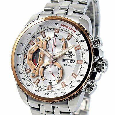 Casio Edifice Mens Chronograph Luxury Sports Watch 100M EF558D-7AV UK Seller