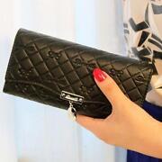 Womens Black Wallet