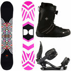 DC Women Snowboards with Bindings