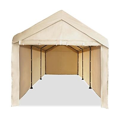 Full Canopy Garage Heavy Duty 10x20 Carport Car Shelter Big