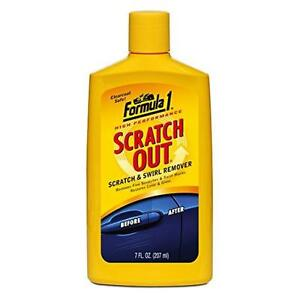 Formula 1 Scratch Out - Scratch Remover for All Auto Paint Finishes - 7 oz. New