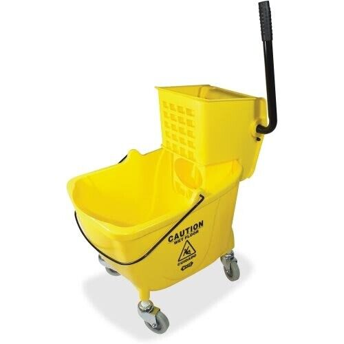 Genuine Joe 35 QT Side Press Mop Bucket/Wringer Combo (GJO02347)