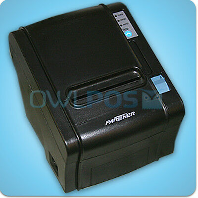 Partner Rp-320 Pos Thermal Receipt Printer Ethernet Usb Interface Dark Gray