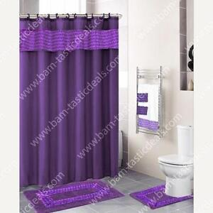 Purple Shower Curtain EBay