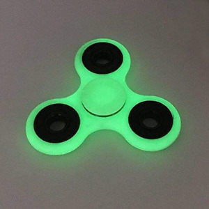 #TelusHelpMeSell - Green Plastic and Metal Fidget Spinner
