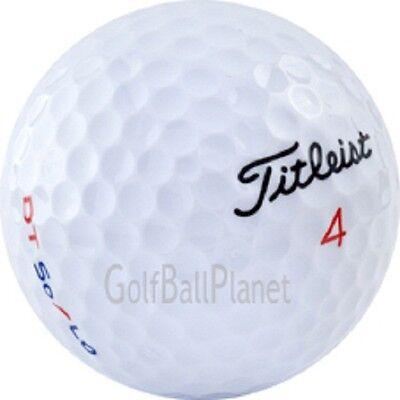 50 Titleist DT SOLO MINT Golfballs Used Golf Balls Mint