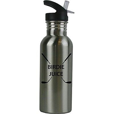 Birdie Juice Stainless Steel Water Bottle with Straw Top 20