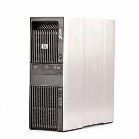 HP Z600 Workstation TOP SPEC (12 Core, 24 Threads, 48GB Ram, FirePro Graphics)