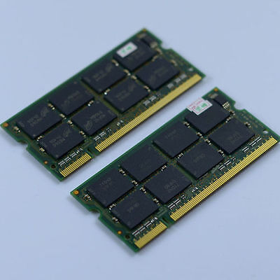 NEU 2GB 2X1GB PC2700 DDR333 333mhz 200PIN laptop Speicher SODIMM Notebook RAM ()